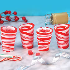 edible glasses edible candy glasses set of 12 peppermint