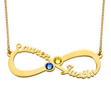 name necklace infinity images Infinity name necklace with birthstones gold plated mynamenecklace jpg