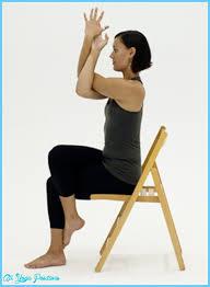 Chair Yoga Poses Yoga Poses Chair All Yoga Positions Allyogapositions Com
