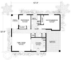cottage style house plan 2 beds 1 00 baths 1052 sq ft plan 420 101