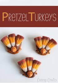 pretzel turkey treats thanksgiving welcometothemousehouse