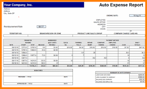 Excel Expense Report Template 10 Excel Expense Report Template Monthly Bills Template