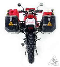 honda xr 650 sw motech hard bolt evo side carrier to fit many side case types