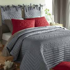 bedrooms bedroom design idea with gray modern bedding and maroon