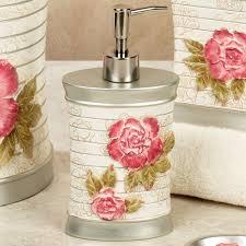 Bath Accessories Online Spring Rose Floral Bath Accessories Roses Bathroom Accessories Tsc