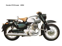 honda dream c70 0704