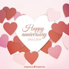 happy anniversary cards happy anniversary card vector free