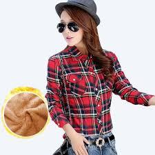 blouse wanita panjang diperiksa kemeja beli murah panjang diperiksa kemeja lots