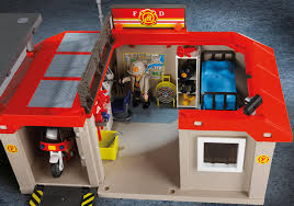 take along fire station 5663 playmobil usa