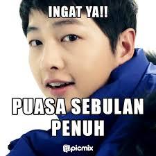 Meme Song - meme ramadhan song joong ki yang bikin semangat puasa ceritapicmix