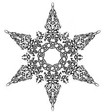 19 best snowflake face tattoo images on pinterest snowflakes