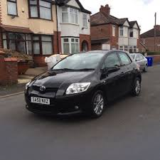 2008 toyota auris 1 4 tr 5dr hatchback petrol manual 55000 miles