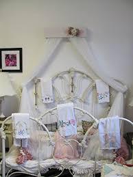 amazon com shabby chic princess bed crown canopy crib baby