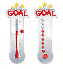 goal thermometers stock vector art 165722131 istock