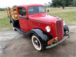 Vintage Ford Truck Body Parts - 1935 to 1937 ford pickup for sale on classiccars com 17 available