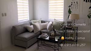 Easy Home Furniture by Camella Homes Cara Model Unit Easy Home Series Youtube