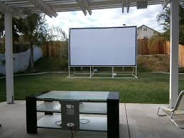 Backyard Home Theater How To Build An Backyard Theater Aroi Design
