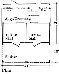 10 Stall Horse Barn Plans Barn Plans Stablewise Gallery