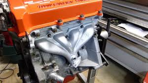 spray painting exhaust manifold or headers high temperature
