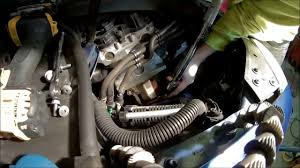 vw mkv 2 5 waterpump removal and install part 2 youtube