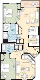 ocean walk resort u2013 floorplans