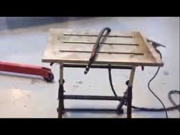 miller arcstation 30fx welding table strong hand nomad welding table review and repairs youtube