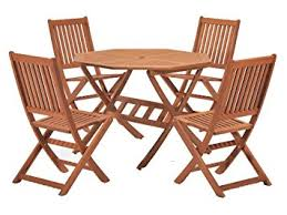 eucalyptus wood dining table cotswold fsc eucalyptus wood outdoor 4 seater dining set with