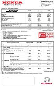 honda malaysia car price honda car model list in malaysia honda malaysia releases gst