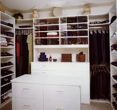 Organization Ideas For Bedroom White Wooden Wardrobe For Closet Organizer On Brown Harwood Floor