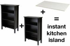 diy ikea kitchen island condo island expedit bookcase ikea hack and countertop