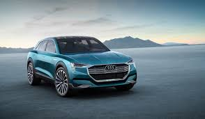 suv tesla blue tesla model x to get two year head start on audi e tron electric
