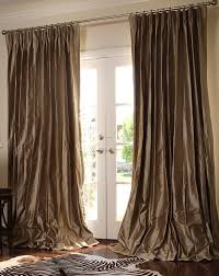 collection in formal living room drapes with cool luxury curtains