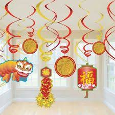 New Years Decorations Ebay by Paper Chinese New Year Party Hanging Decorations Ebay