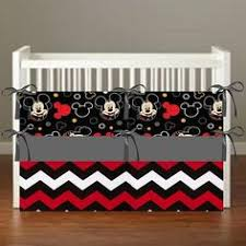 Vintage Mickey Mouse Crib Bedding Disney Mickey Mouse Infant Toddler Baby 2 Modes Convertible Car