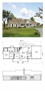 Traditional House Plans With Porches by 113 Best House Plans Images On Pinterest