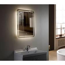 Led Lighted Mirrors Bathrooms Led Bathroom Mirror