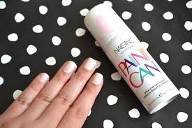 nails inc paint can spray can nail polish review aquaheart