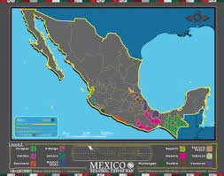 Jalisco Mexico Map Cafe Imports Mexico