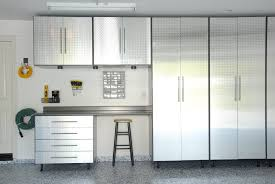 how to hang garage cabinets custom metal garage cabinets with door and drawer plus mounted hooks