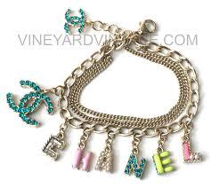 colored charm bracelet images Pin by vineyard vintage on chanel bracelets in 2018 pinterest jpg