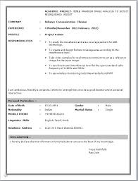 Sample Resume For 2 Years Experience In Software Testing by 100 Fresher Resume Sample Resume Templates For Freshers It