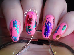 fun pink nails u2013 my nail envy