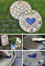 Stepping Stone Molds Uk by 25 Beautiful Garden Stepping Stones Ideas On Pinterest Garden