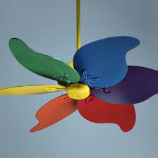 46 quorum pinwheel multi colored ceiling fan casa colorida