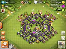 layout coc town hall level 7 top 5 defensive layout for coc town hall 7 topp5