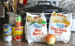 crock pot ravioli the country cook