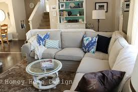 Decorating Traditional Living Room Design With Slipcovers For