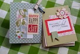 Handmade Scrapbook Albums Handmade With Love Ain Birthday Card Idea Mini Scrapbook Premier