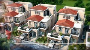 3d contemporary township designs 3d township architectural