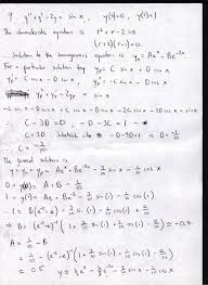 calculus and diffeial equations